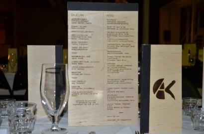 A-kilta menu
