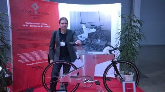 JP ja pyörä Plootu Fennica