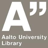 Aalto kirjasto logo
