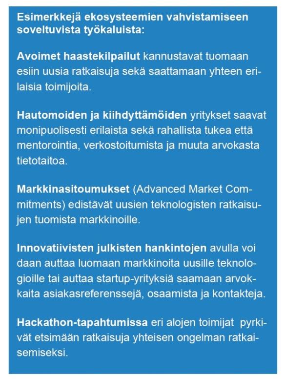Ekosysteemityökaluja VNK2016