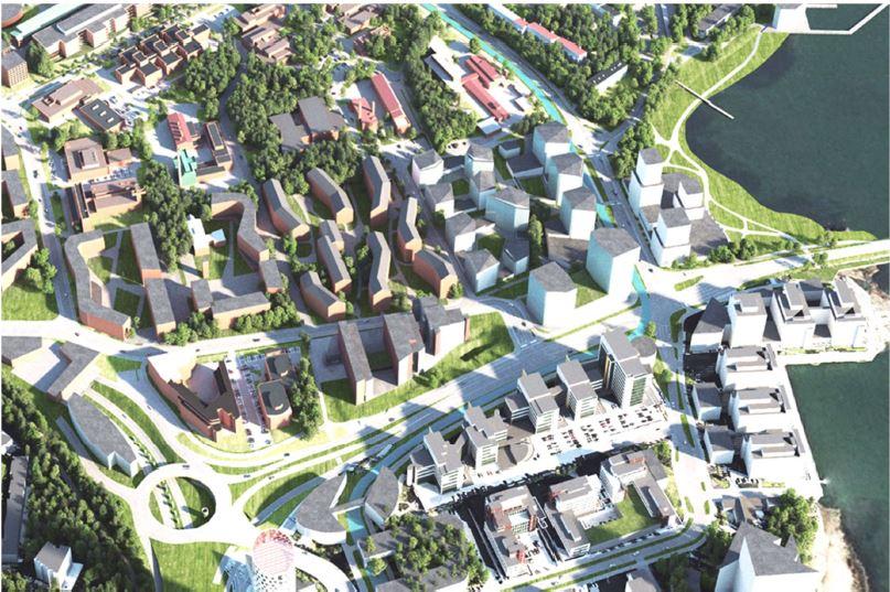 Ksk Urban Mill Building Intencity